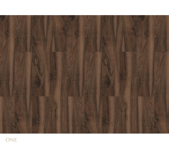Виниловый пол LG Decotile Орех темный 2,5 мм